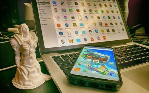 Mac スマホ Samsung