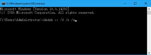 I/O デバイス エラー CMD