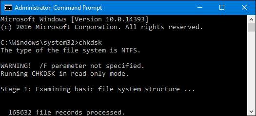 Windows ボリューム CMD