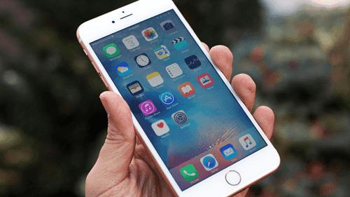 iPhoneが赤い画面