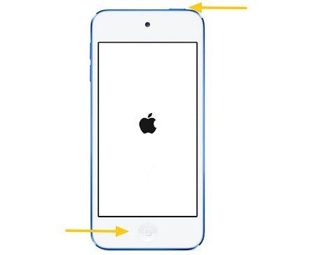iPodを再起動