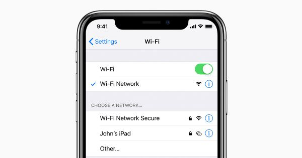 WiFiスイッチをオフ