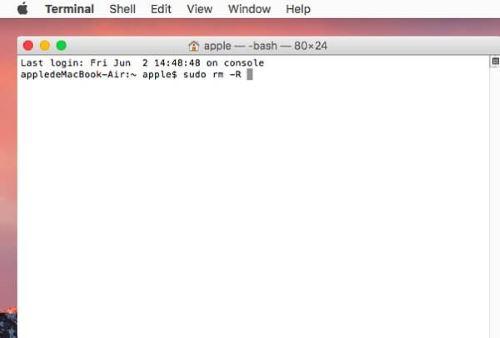 Mac アップル Trash ゴミ箱
