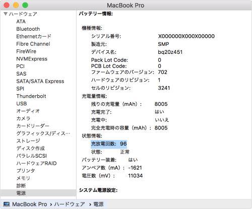 Mac メンテンス パワー