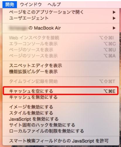 Safari 履歴 キャッシュ