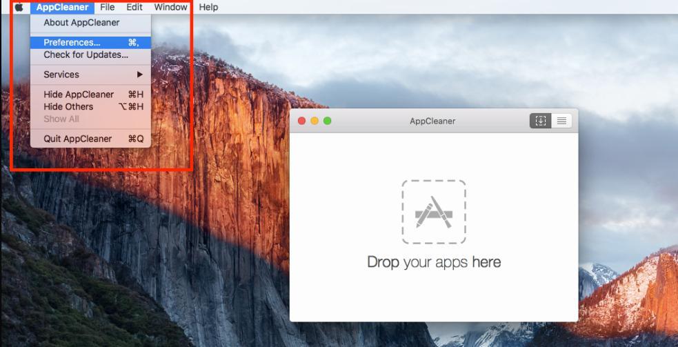 AppCleaner 設定