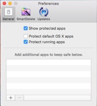 AppCleaner システムアプリ保護