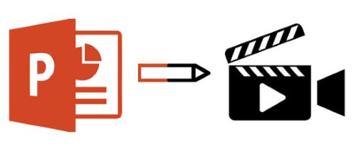パワーポイントファイルを動画に変換