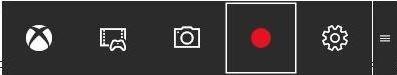 XBOX ゲームクリップ ボタン