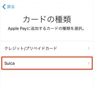 Apple Pay カード 種類
