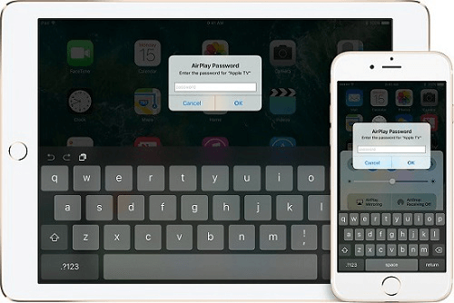 Apple TVにストリーミング