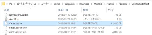 Firefox places.sqlite