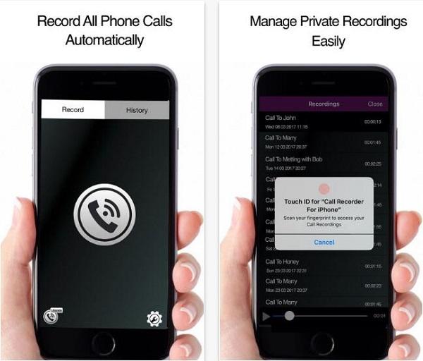 通話録音 iPhone用電話レコーダー