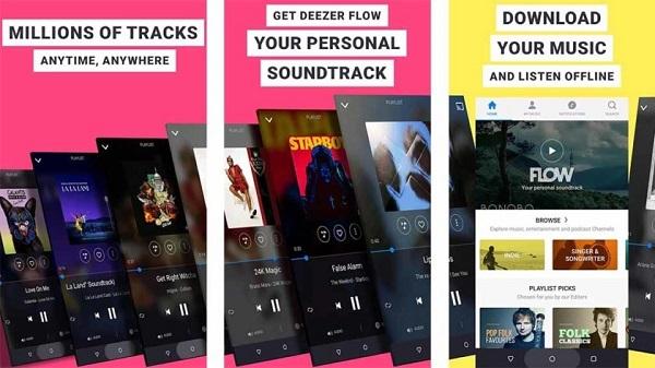 Deezerアプリ