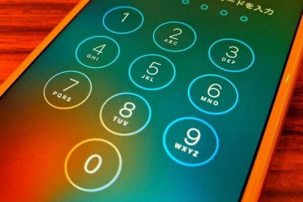 iPhone機能制限パスワード