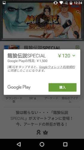 Google プレイ 購入
