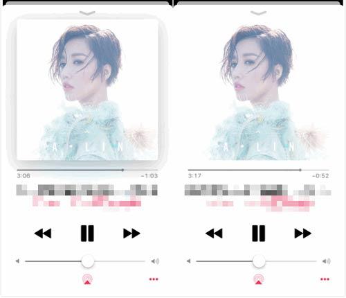Apple Musicアルバムの表紙異常