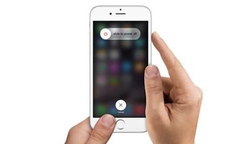iOSデバイスを再起動