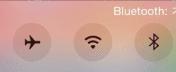 Bluetoothをチェック