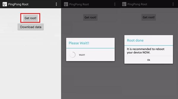 PingPong RootでGalaxy S6/S6 Edgeをルート化