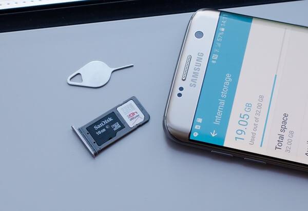 SIMカードをテスト