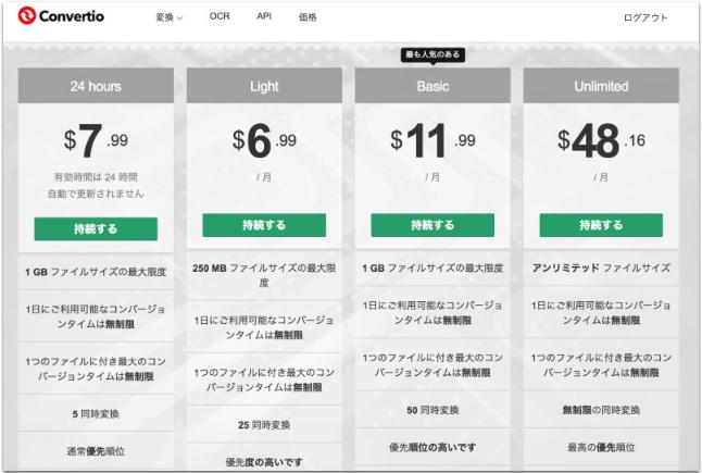 GIF MP4 価格